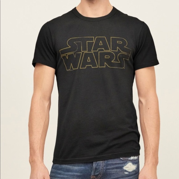 3ac7d4f3 Abercrombie & Fitch Shirts | Abercrombie Fitch Vintage Star Wars ...